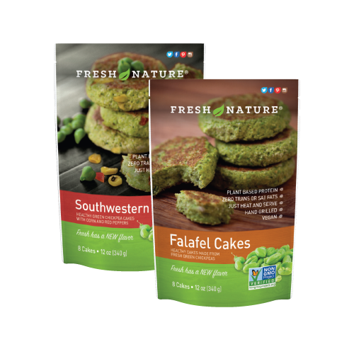 Falafel Cake Product Photo