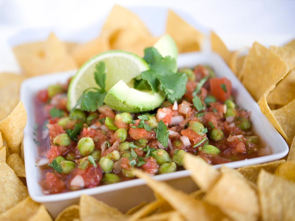 Green Chickpea Salsa Image