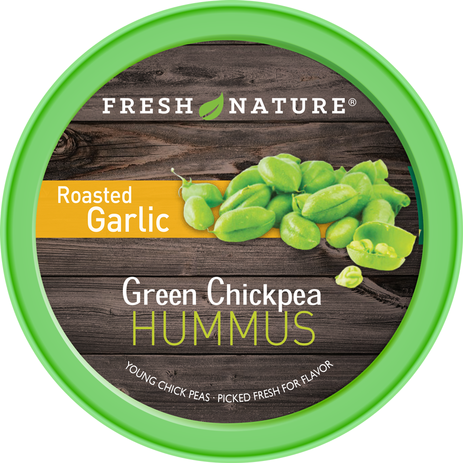 Roasted Garlic Hummus Product Photo