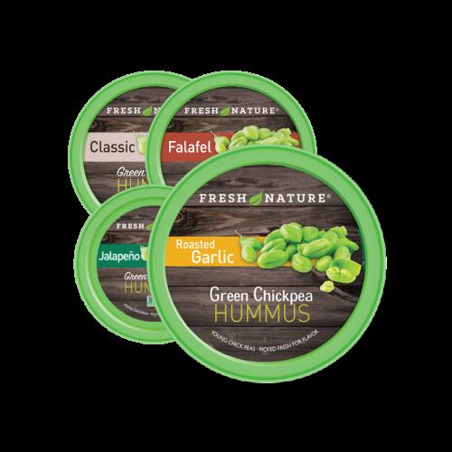 Fresh Nature Hummus Products Photo