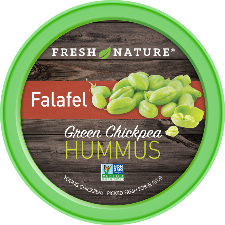 Falafel Hummus Product Photo